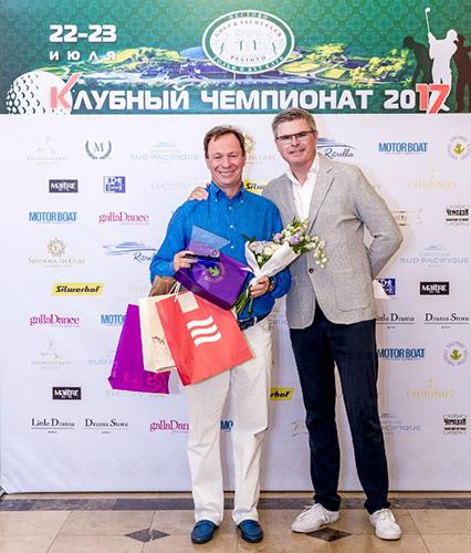 ТМ Silwerhof наградила участников гольф-турнира клуба «Пестово»