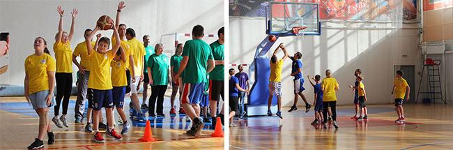 Баскетбольный праздник в Павловском Посаде