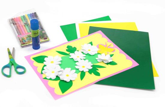 Мастер-класс по изготовлению открыток для милых дам
