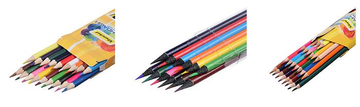 Новые цветные карандаши и восковые мелки Silwerhof