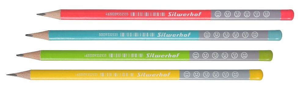 новые чернографитные карандаши от Silwerhof